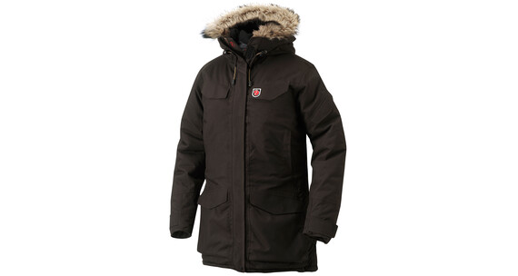Fjllrven Women's Nuuk Parka black brown